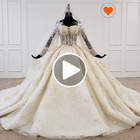 Jancember HTL1168 Wedding Dress Material Wedding Dress Bridal Gown Latest Design