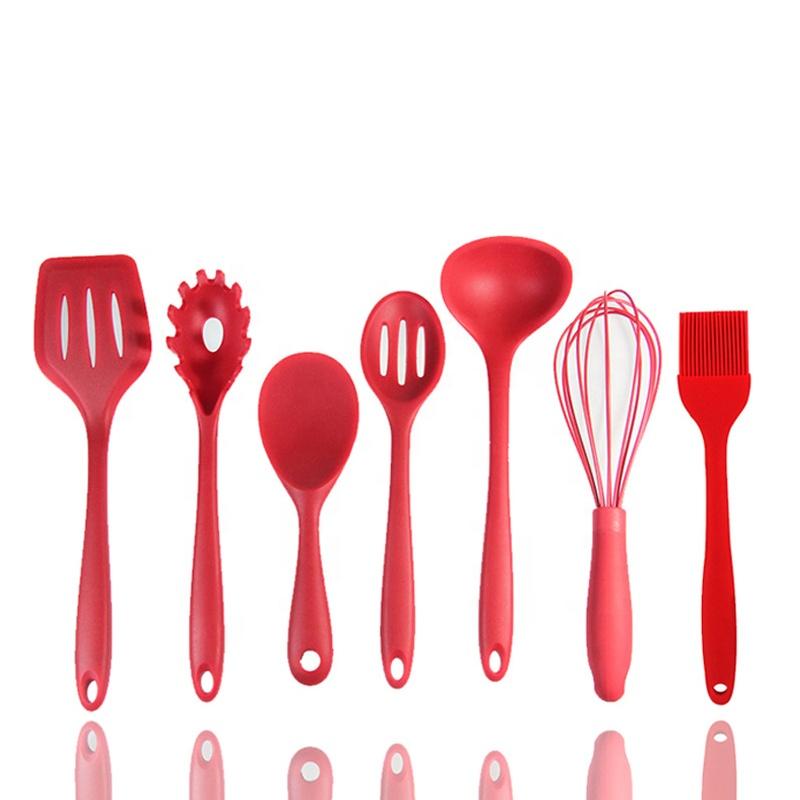 Non-Stick Kitchen Accessories Cookware Set Wholesale 10 Pcs Kitchen Utensils Silicone Kitchen Utensil Set Cooking Tool