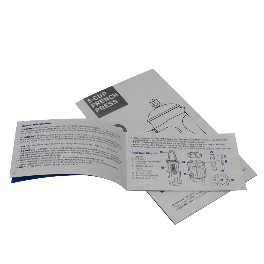 Высококачественная бумага, цветная уникальная Брошюра, ручная печать