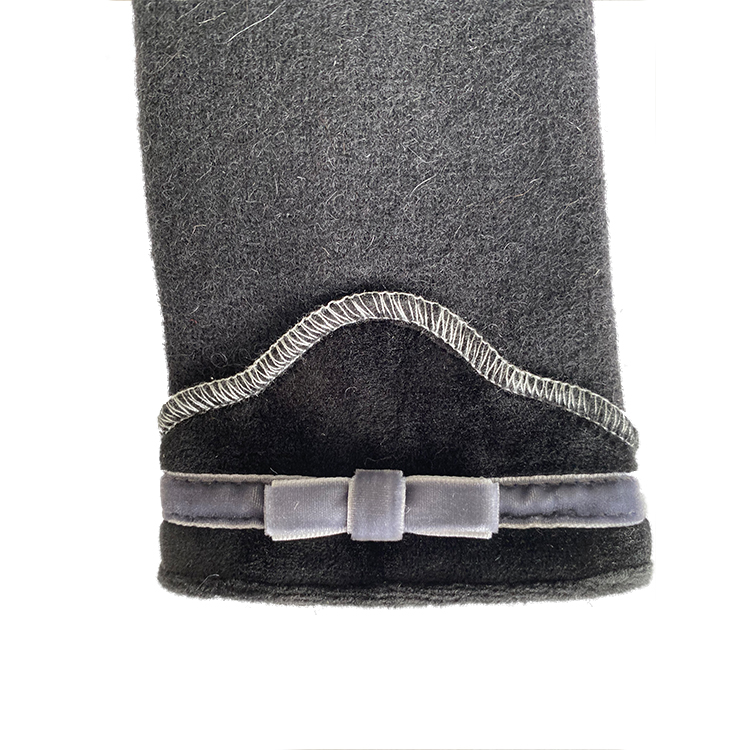 good quality winter warm fleece gloves fur women