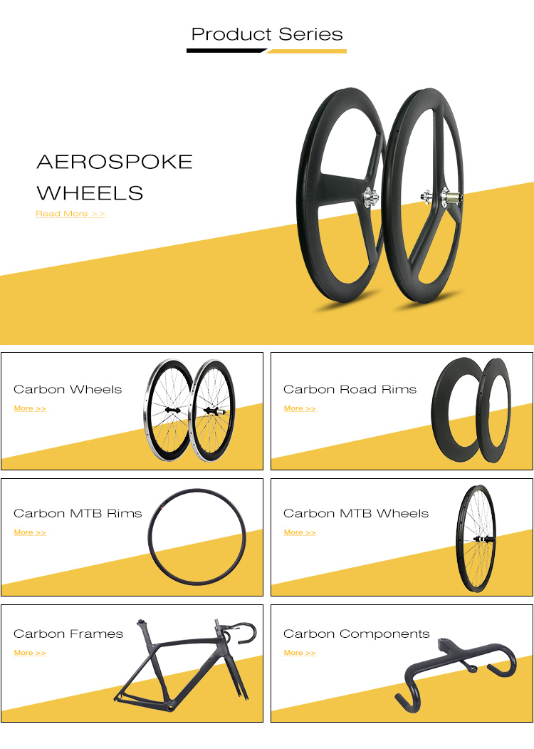 Велосипед Цикл колесная полный углерода Aero Триатлон колеса комплект 3 говорил