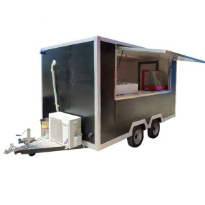 New Designed Big Wheels Mobile Street Food Kitchen Truck /Breakfast Food Cooking Cart