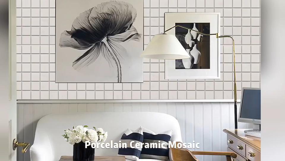 Foshan la producción de cerámica Kajaria de pared de baño de azulejos de piso de mosaico de azulejos