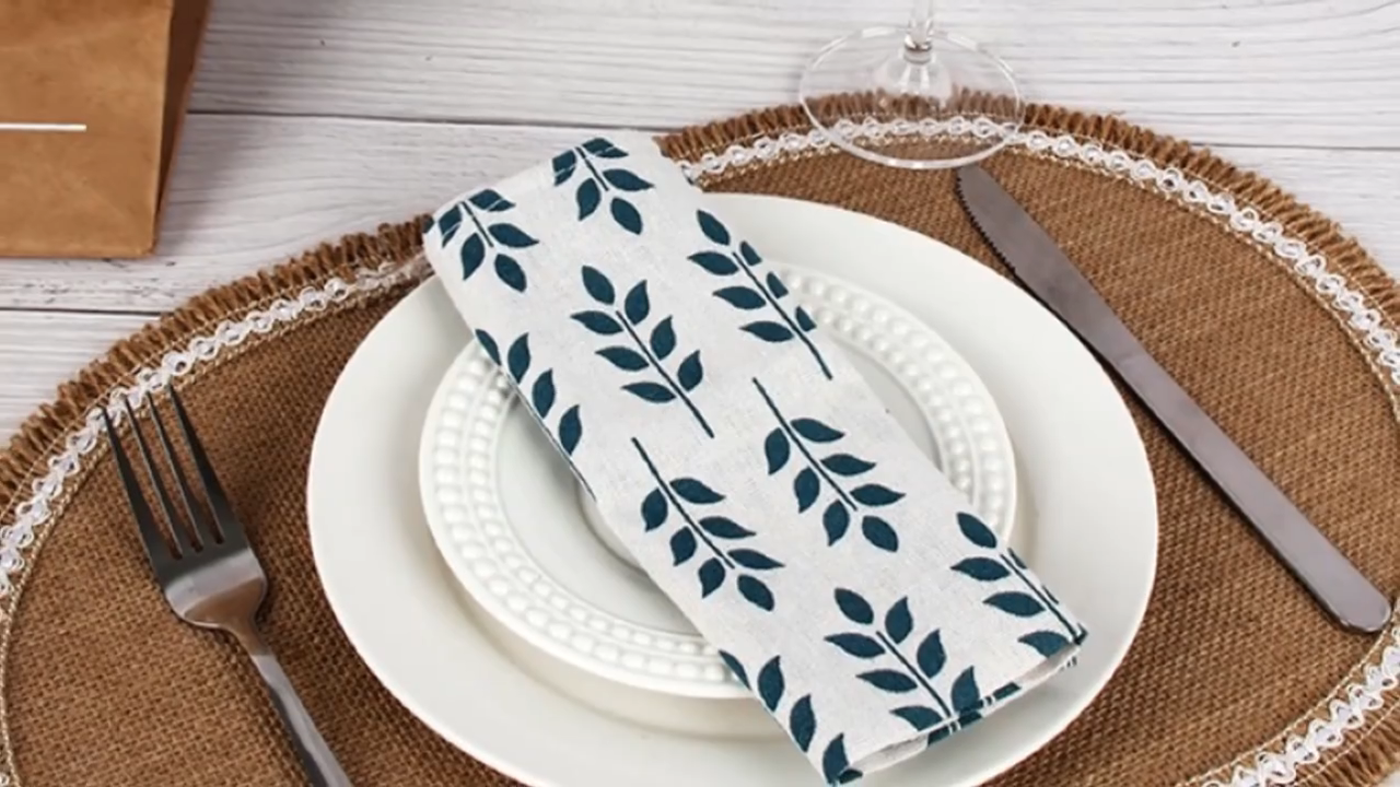 Eco Friendly Kitchen Jute placemats for dining table