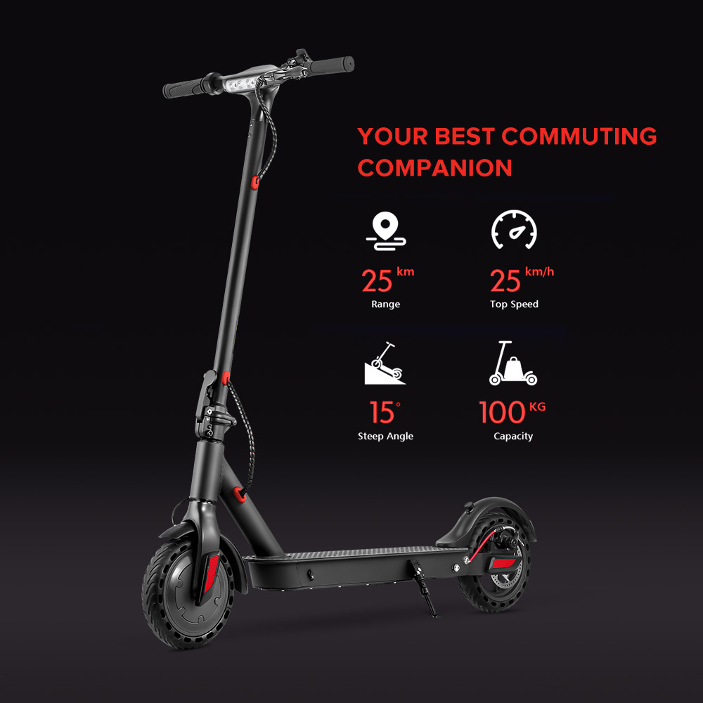 iScooter E9T 350W  8.5 inch 30km/h Foldable  Kick Scooters Electric Scooter Adults