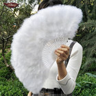 FK Feather Wholesale Cheap White Feather Fans For Dancing