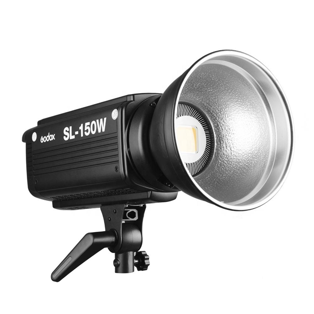Godox SL-150W SL150W 150WS 5600K White Version LCD Panel LED Video Light Continuous Output Bowens Mount Studio Light