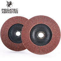 abrasive polishing wheel angle grinder abrasive flap disc with MPA certificates
