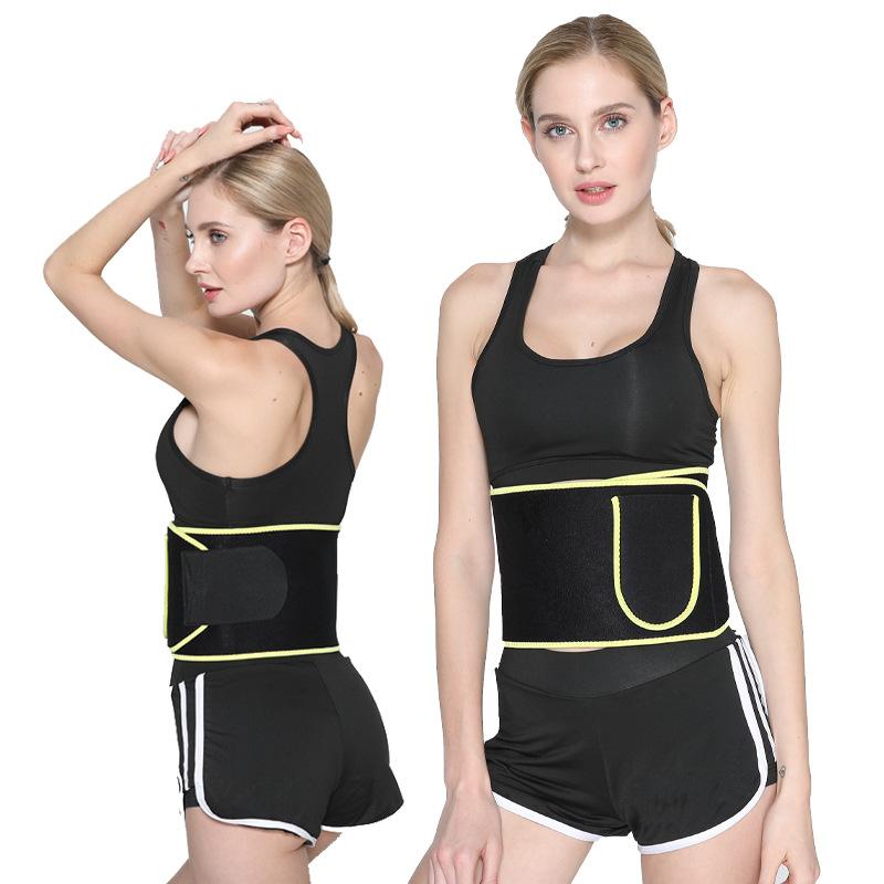 Amazonการออกกำลังกายร่างกายเอวเทรนเนอร์รัดตัวการสูญเสียน้ำหนักเอวเทรนเนอร์เหงื่อสำหรับผู้หญิง
