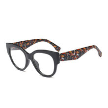 SO & EI модные негабаритные женские очки в оправе кошачий глаз, могут быть оснащены прозрачными линзами для близорукости, винтажные мужские оп...(Китай)