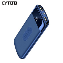 Cytltb Baru 10000 MAh <span class=keywords><strong>Power</strong></span> <span class=keywords><strong>Bank</strong></span> Ponsel Portabel Powerbank 10000 MAh Charger Qi Wireless <span class=keywords><strong>Power</strong></span> <span class=keywords><strong>Bank</strong></span>