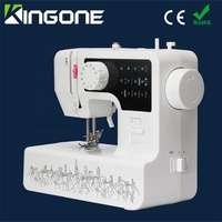White Sewing Machine Household Cylinder Arm Sewing Machine for Clothes