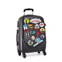 Custom travel luggage stickers