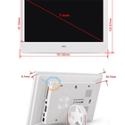 7 inch small size mini digital signage lcd advertising display screen with video input