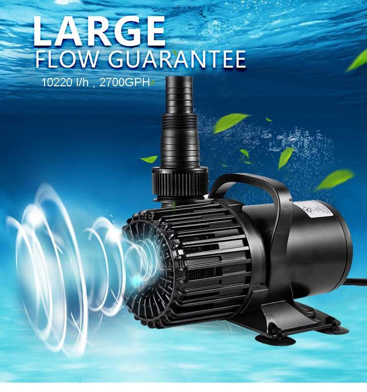 2700GPH,10000 L/H,120W,Submersibleปั๊มน้ำบ่อปั๊มปั๊มสวนน้ำสำหรับน้ำพุ,ชลประทาน,น้ำตก,พิพิธภัณฑ์สัตว์น้ำ