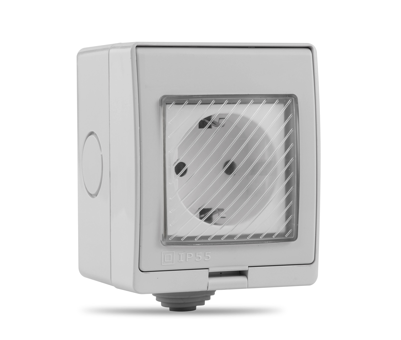 smart socket wifi eu christmas wireless  remote control outdoor socket IP55 waterproof  plug work with amazon alexa google home