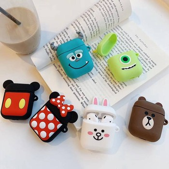 Cartoon Cute TWS Protective Silicone Case for TWS