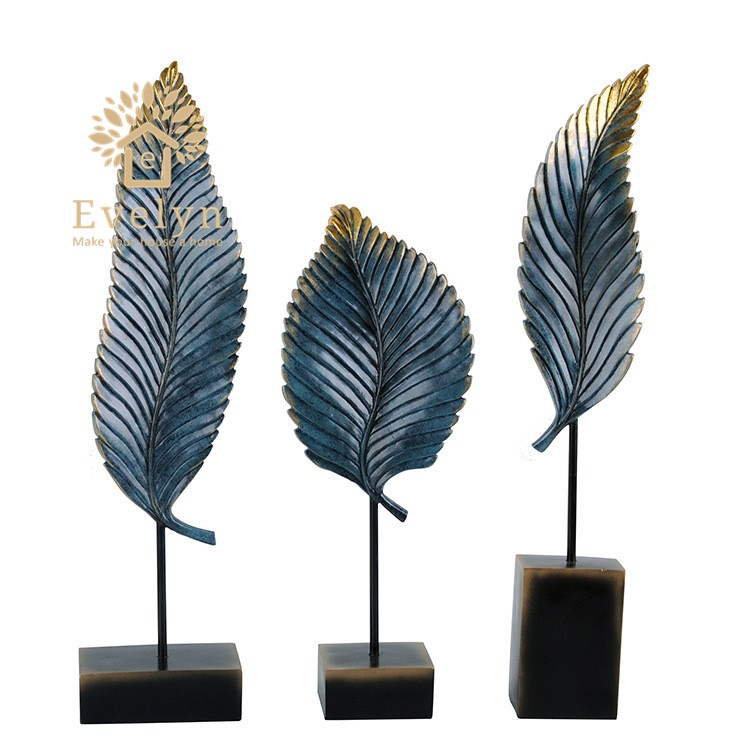 European resin craft banana leaf shape ornament <strong>home</strong> decor <strong>for</strong> <strong>sale</strong>