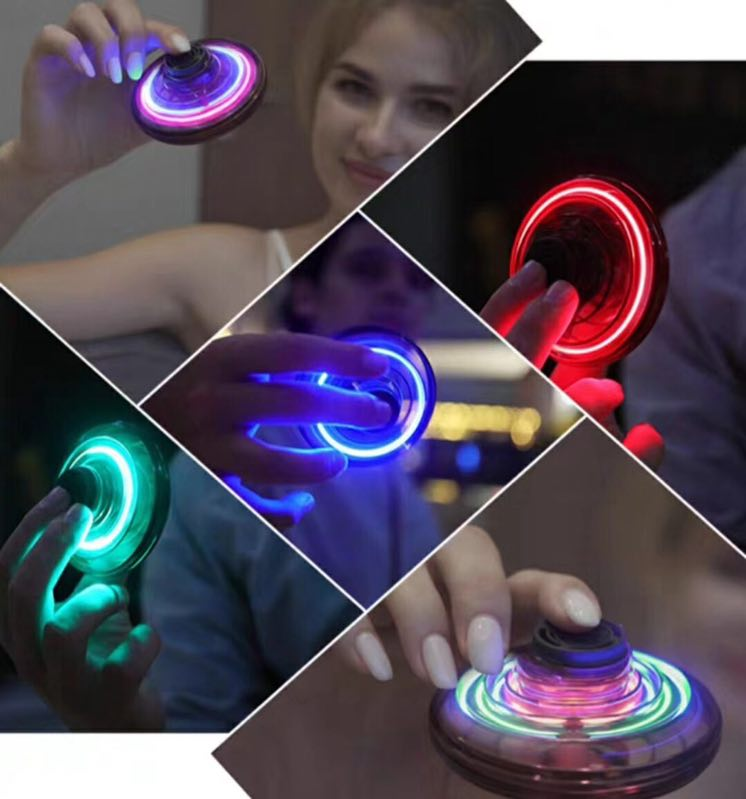 2020 Amazon hot selling FLYNOVA Induction gyro flying spinner toys relaxing and fun toys for everybody