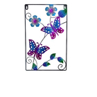 Liffy Butterfly With Flower Design Wall Art Home Decoration