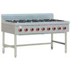 Commercial Restaurant Stove Gas Range 8 Burners Cooking Range