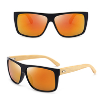 DLK8204 Men sunglasses polarized bamboo sunglasses sun glasses for men 2020 new arrivals glasses gafas