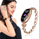 Fashion E68 Ladies Smart Watch Bracelet for Women Support Heart Rate Blood Pressure