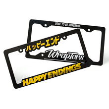 Usa & Canada Maat Custom Plastic Auto <span class=keywords><strong>Nummerplaat</strong></span> <span class=keywords><strong>Frame</strong></span> Auto <span class=keywords><strong>Nummerplaat</strong></span> <span class=keywords><strong>Frame</strong></span>
