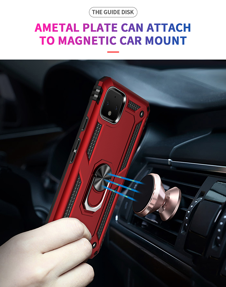 Anti-fall Sheriff Armor Bracket mobile phone case and accessories mobile phone case cover for Google Pixel 4