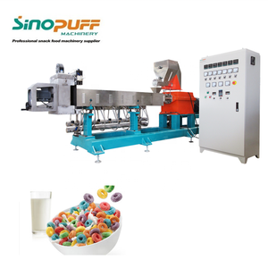 High Quality New Condition Automatic Corn Flakes Plants Breakfast Cereals Making Machine Puff Cereal Processing Line