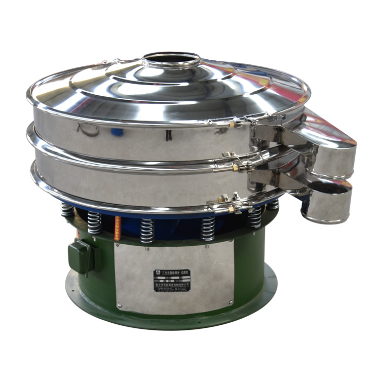 High frequency circular rotary Spices powder vibration sieve