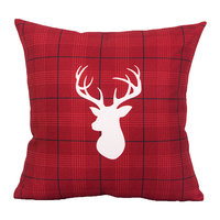 high quality modern design elegant washable Christmas pattern design pillow covers for decor