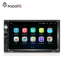 "Podofo Android 8.1 2 DIN Mobil Video Autoradio 2din Stereo 7 ""Layar Sentuh GPS WIFI Mobil MP5 Player 7010"