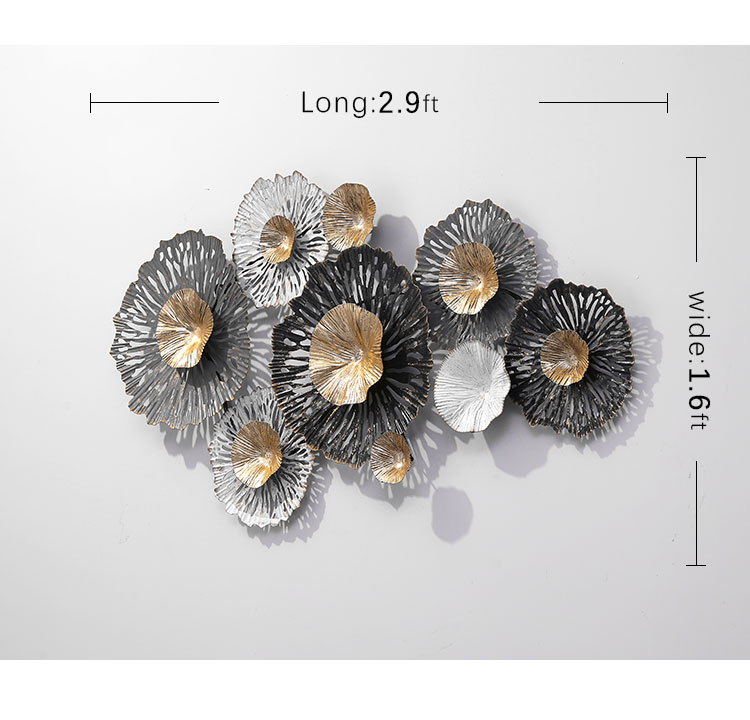 Iron Metal Decoration Items metal wall art home decorative for Living Room