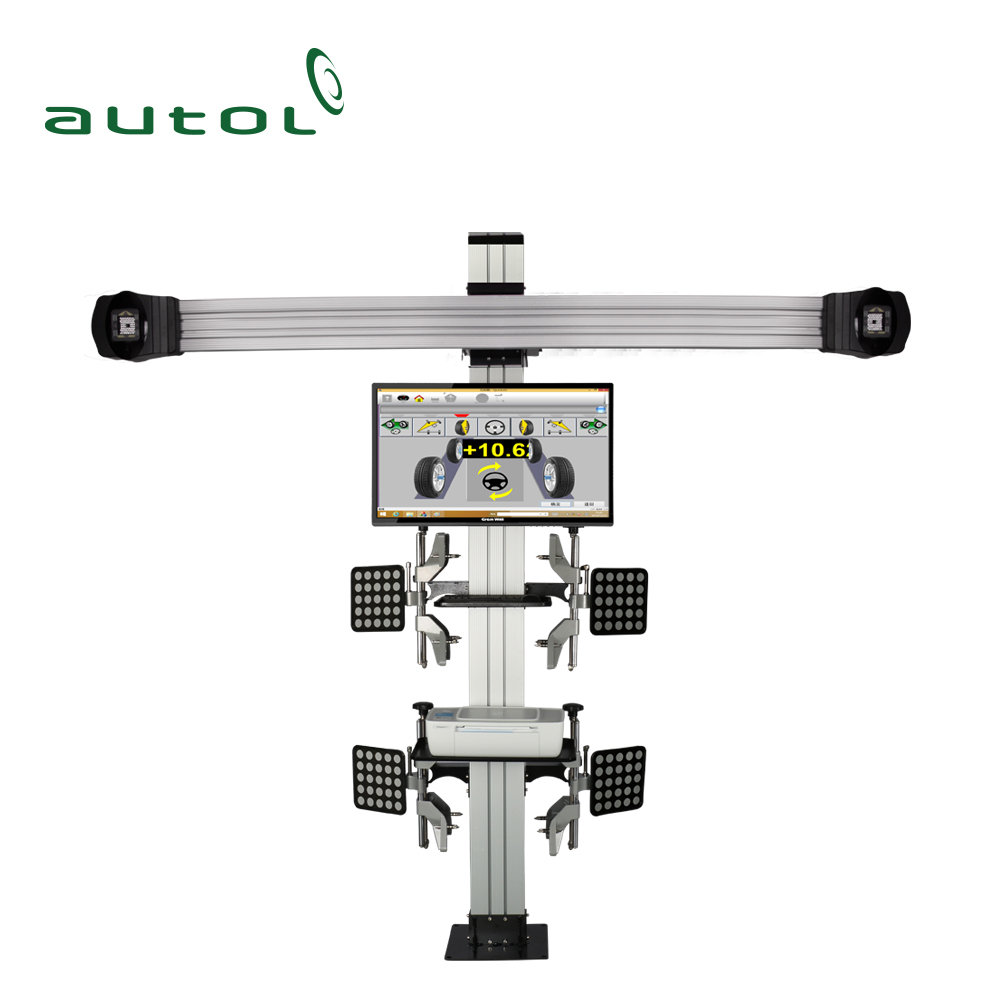 China Supplier Automotive Service 3D Wheel Aligner Ausland S100 Wheel Alignment Equipment for Car