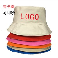 manufacture wholesale custom logo 100% Polyester plain Fishing Fisherman hike Bucket hat cap