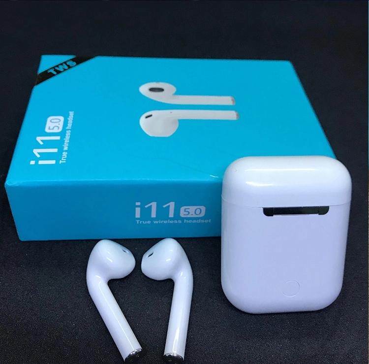 2019 Original Mini Audifonos Touch I11 Tws Bluetooths 5.0 True Wireless Stereo 1:1 Earpoding Airpoding I11 Tws Earphone Earbuds
