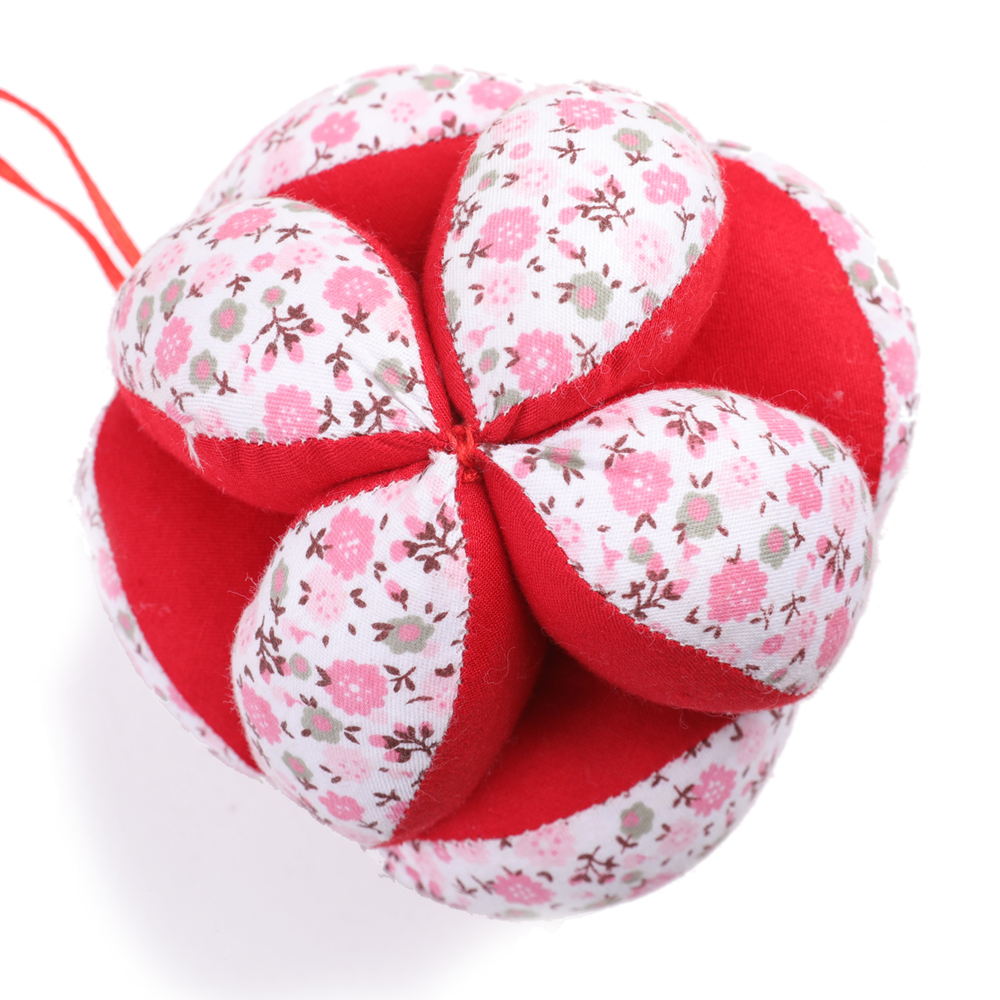 Rainbow Fabric Ball Sensory Montessori Ball Baby Toys