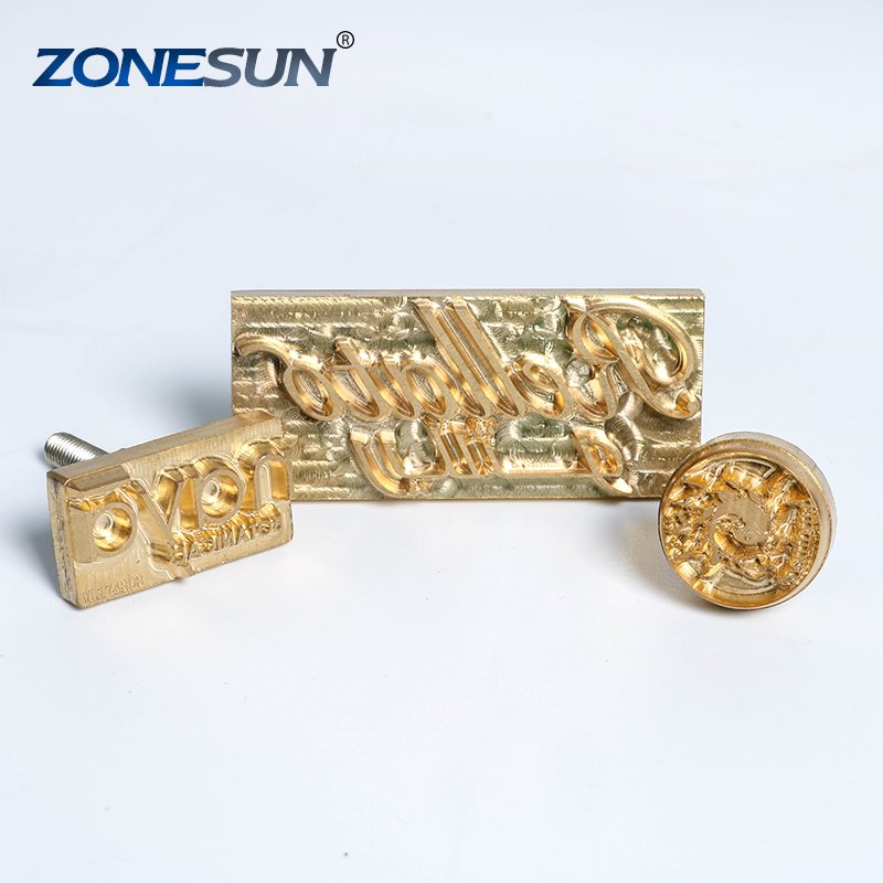 ZONESUN Custom Brass Copper Leather Stamp <strong>Mold</strong> Die Cut Embossing <strong>Mold</strong> Brass Stamping Copper <strong>Mold</strong>