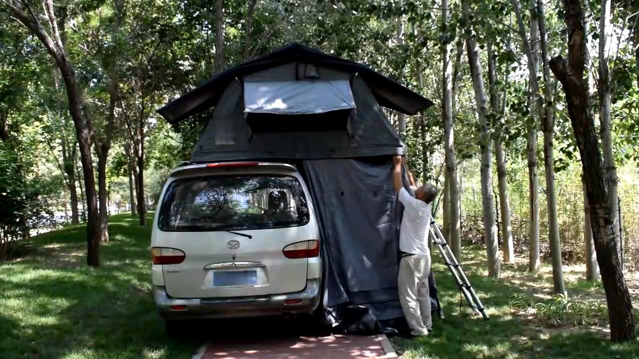 2020 아마존 방수 캠프 차 지붕 여행 캠핑카 트레일러
