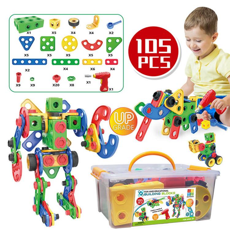 Best Seller 2019 Hot Sale Kids Stem Toy Kit 3d Learning ...