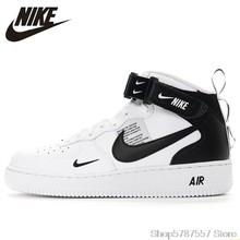 Nike Air Force 1 Новое поступление, Мужская обувь для скейтбординга, оригинальные противоскользящие спортивные кроссовки на воздушной подушке дл...()