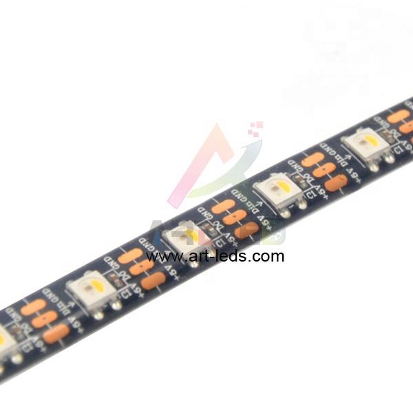 individually sk6812 5v RGBW 60 led addressable led strip ws2812b