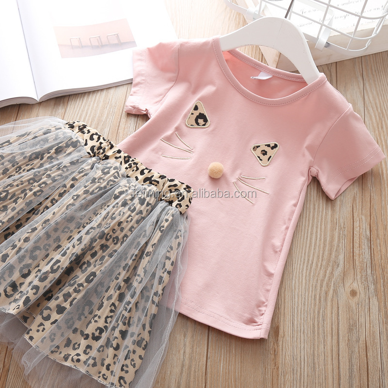 Girls Clothing Sets Summer Children Clothing Wear Wholesales Kids Clothes For Girl