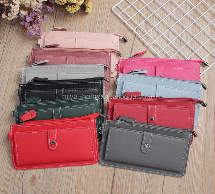 High quality women's wallets / long fashion gun color wallets / large-capacity multifunction clutch purses