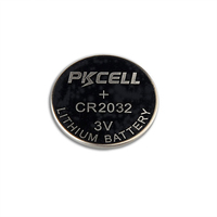 3v rechargeable lithium battery cr2032 button coin cell batteries
