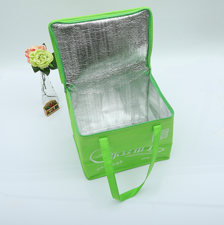 ECO Wholesale Carrier insulated Can Non Woven Ice Cooler Bag For Frozen Food