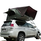 3 4 person camping SUV hard shell car roof top tent hard shell rooftop tent for sale with annex canopy awning