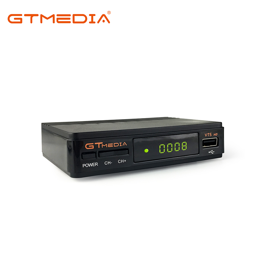 GTMedia V7S TV Empfänger HD 1080 p Internationalen Satellite TV Receiver Decoder Powervu Digital Set Top Box