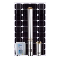High quality solar water pump for agriculture deep well pump dc solar submersible pump